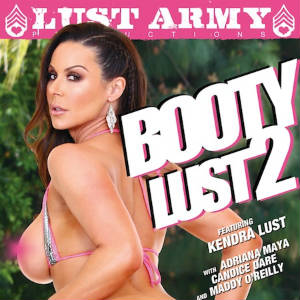DVD Cover Art for Booty Lust 2.