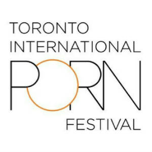 Logotype for The Toronot International Porn Festival.