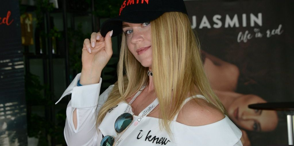 Photo of pretty model in ball cap from The Bucharest Summit.
