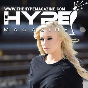 Portrait of Bailey Brooke with The Hype logo.