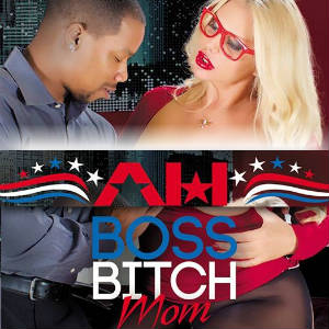A censored detail from Karen Fisher's Boss Bitch Mom DVD cover.