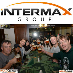 Group shot with InterMaxGroup's Logo from their War & Race After-event Event in Pilsen