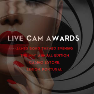 "Detail from full-size graphic of the ""ames-Bond-Style"" 2018 Live Cam Awards."