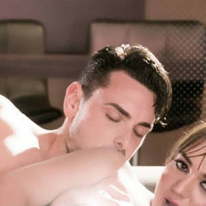 Publicity photo of Ryan Driller and Reena Sky in Tales of Psycho Sluts.