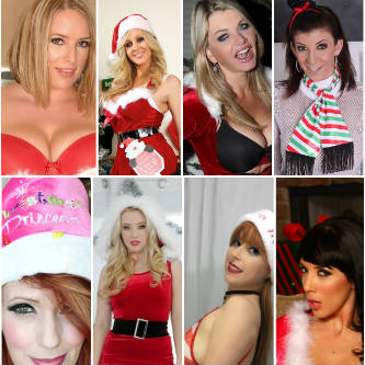 A photo collage of the many VNA Girls live and online this Christmas 2017.