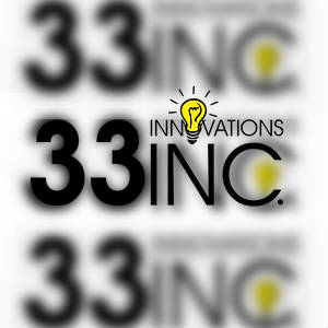 The 33 Innovations Inc. logo. Three times.