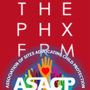 The logos for ASACP and Phoenix Forum, together again!