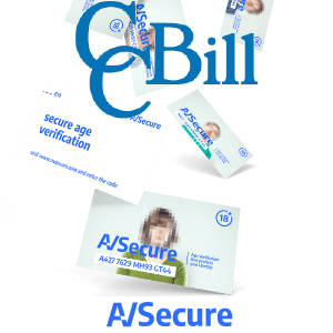 CCBill and AVSecure Logo mashup.