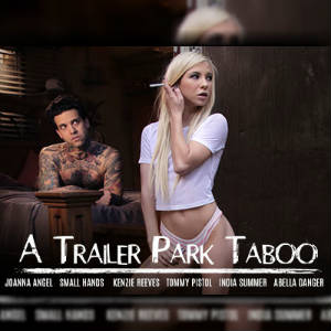 Promotional poster art for A Trailer Park Taboo.