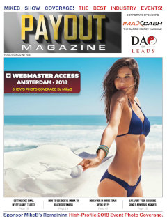 Cover of the latest issue of Payout Digital.