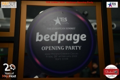 TES 2020 Lisbon ! The BedPage Official Opening Party ! !