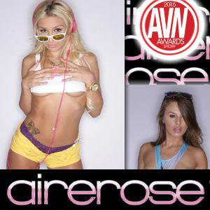 AireRose Models Present Awards Trophies