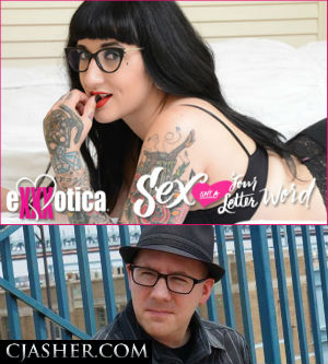 C.J. Asher & Camille Black at Exxxotica