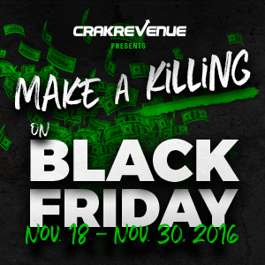 Crakrevenue's Black Friday Deals!