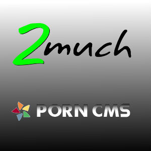 2much.net and PornCMS Software Company Logos.