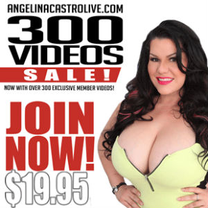Angelina Castro Celebrates 300 Member Videos