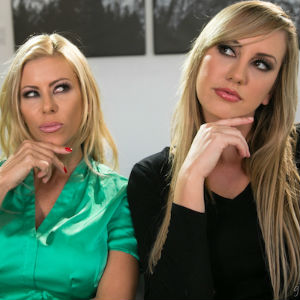 Picture of Alexis Fawx and Brett Rossi in Fantasy Factory.