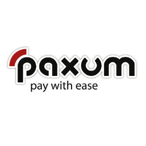 The Paxum Logo on a white field.