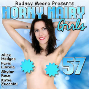 DVD Cover for Horny Hairy Girls 57.