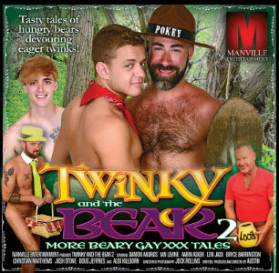 Twinky and the Bear 2 DVD Box cover detail.