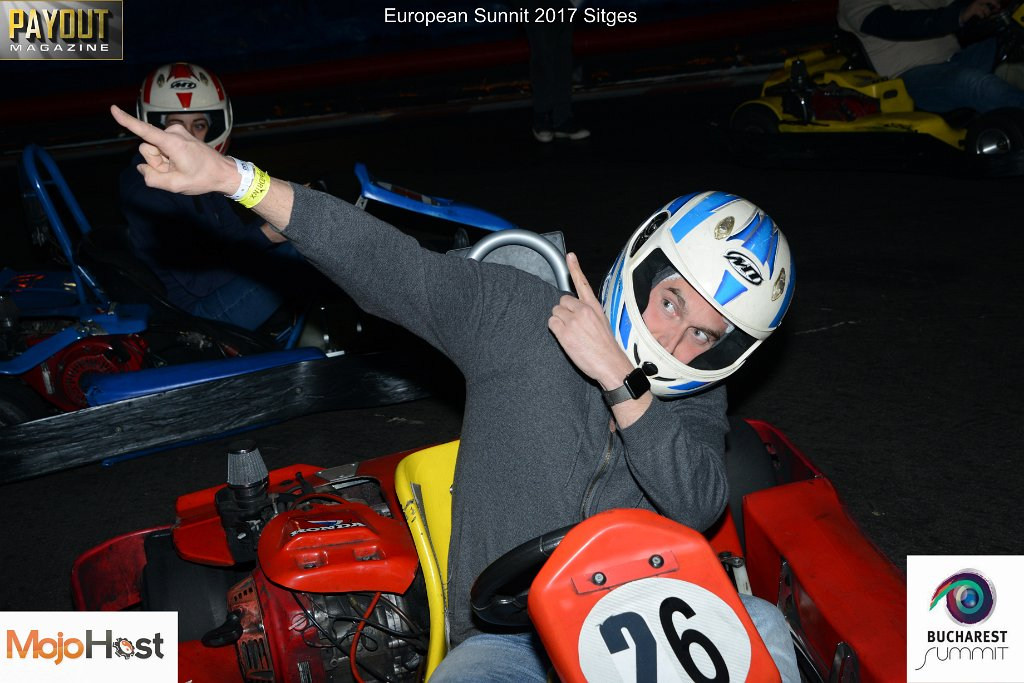 Picture of Kart Racer at the TES YNOT Grand Prix 2017 in Sitges.