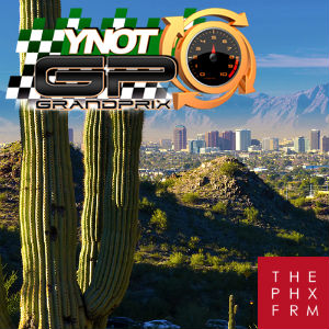 The YNOT Grand Prix 2017 at Phoenix Forum - Logos.