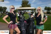 Picture of Sexy Caddie-babes at 2017 Phoenix Forum.