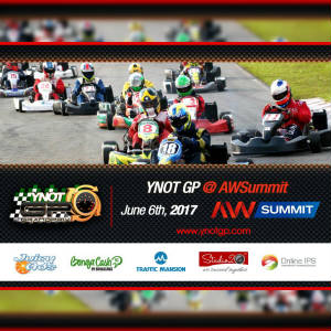 Detail of Ad of the AWSummit segment of the YNOT Grand Prix.