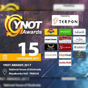 YNOT Awards graphic with sponsors listed.