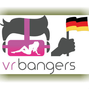 VR Bangers Graphic with Logo and flag of Germany.