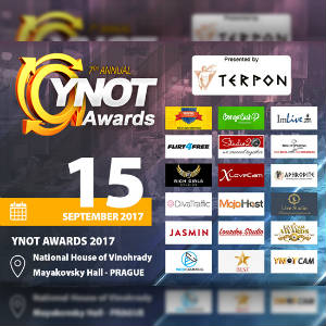 Graphic for YNOT Awards highlighting the award gala's sponsors.