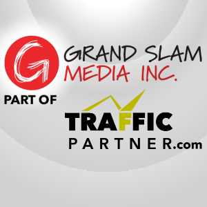 Grand Slam Media and Traffic Partner logos Paired.