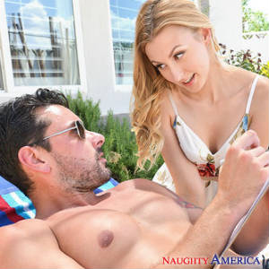Photo from a new scene starring Ryan Driller and Alexa Grace.