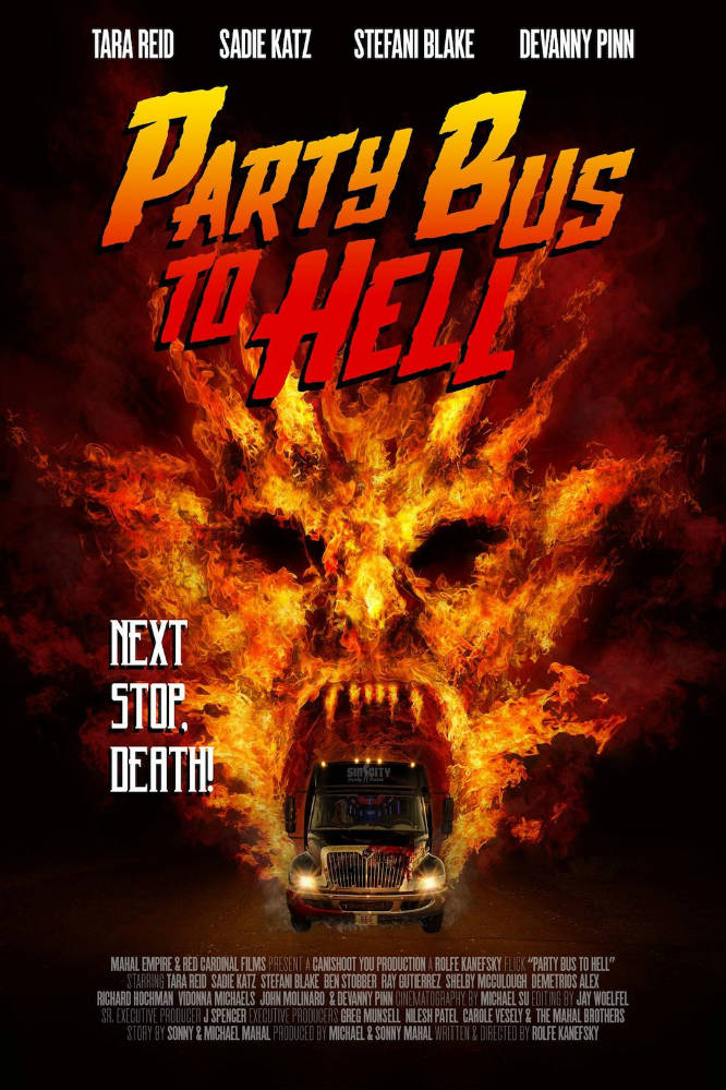 Party Bus To Hell Poster.