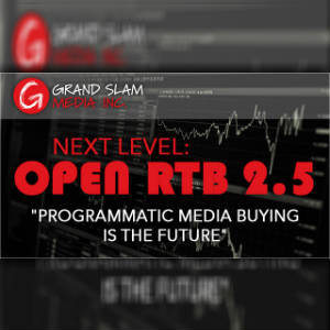 Grand Slam Media logo and graphic advertsing OpenRTB.