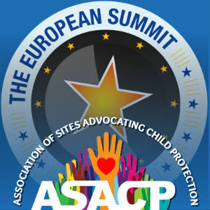 The ASACP and European Summit logos collaged.