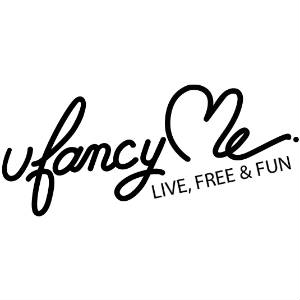 Graphic of UFancyMe Logo.