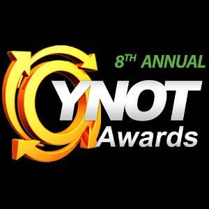 Graphic for the 8th Annual YNOTAwards.
