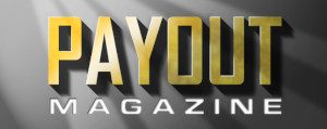 The splendid Payout Magazine logo.