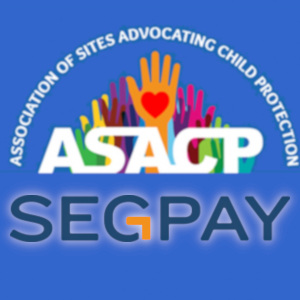 Logo mashup graphic with both ASACPand Segpay in the same frame.