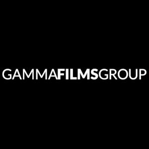 A graphic of the Gamma Films Group logo on a black field.