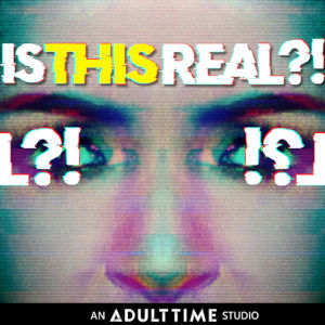 Detail from ad for Adult Time's new studio IsThisReal.com.