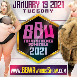 Detail from the 2021 BBW Awards Show promotional poster.