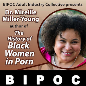 Promotional graphic for BIPOC event and logo below.