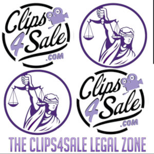 The Clips4Sale Legal Zone logo graphics.