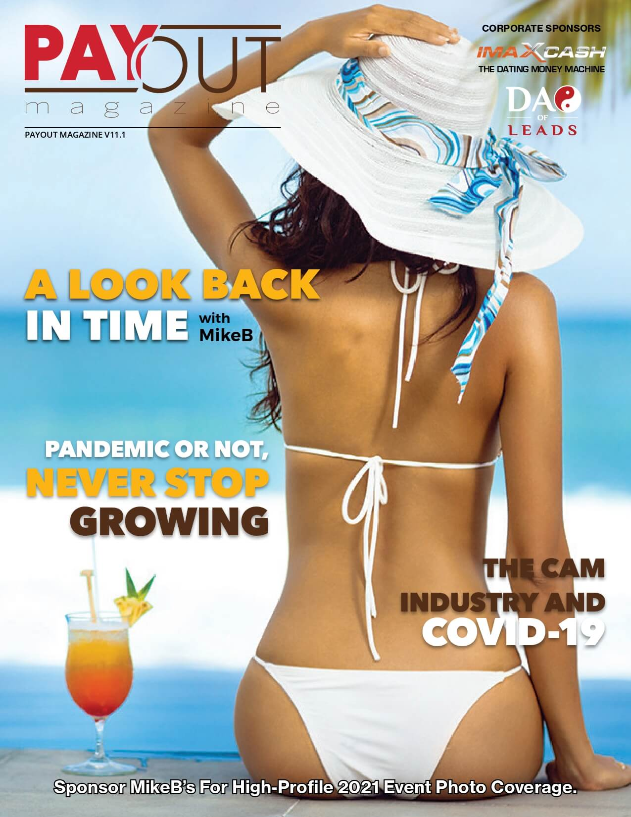 Cover of Payout Magazine Online, Volume 10.07.
