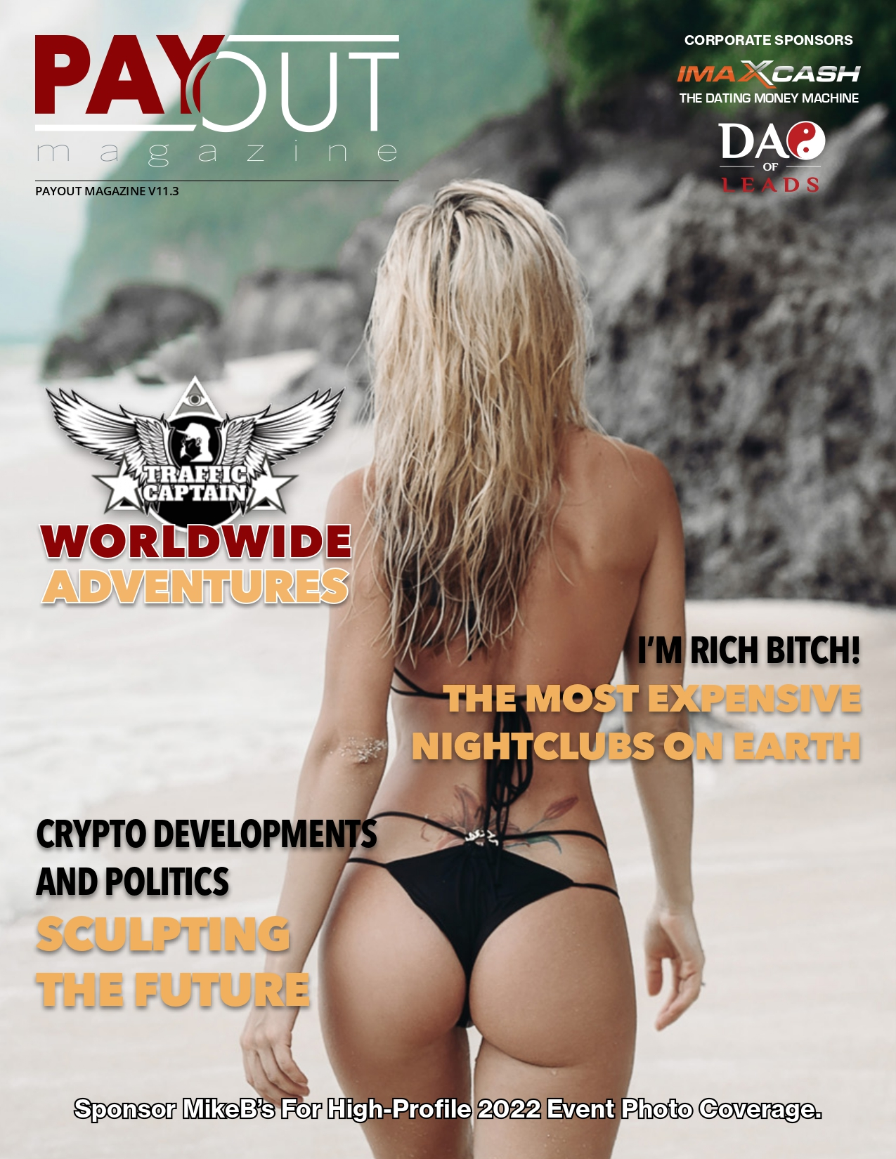 Cover of Payout Magazine Online, Volume 11.02.